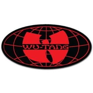Wu Tang Clan Hip Hop Band Car Bumper Sticker Decal 6x3