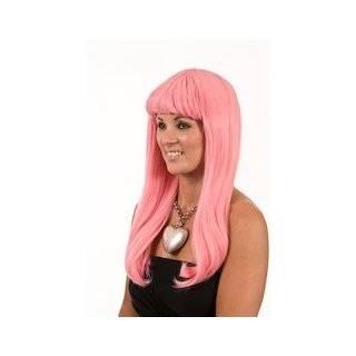 Pink Straight Nikki Minaj Wig  Long Pink Straight Wig