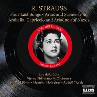 Lisa Della Casa Sings Richards Strauss: Four Last Songs