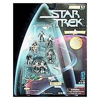 Warriors Strike Force Figure Pack   Star Trek Warp Factor Series 1
