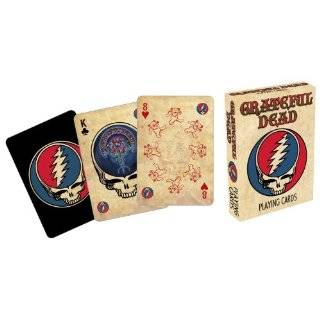 Grateful Dead Playing Card Gift Tin Toys & Games
