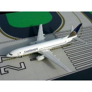 Gemini 250 Continental Airlines Boeing 737 800 Model Airplane