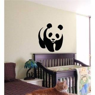 Panda Bear Kids Wall Art Sticker Baby Room Nursery 04