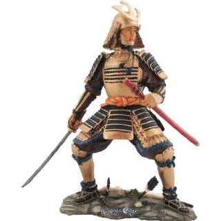 Samurai Warrior In Battle Japanese Statue Figurine Home