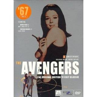 The Avengers 67   Set 4, Vols. 7 & 8 Diana Rigg Movies