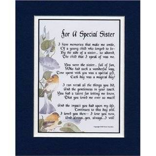 Touching and Heartfelt Poem for Sisters   With Love for My Sister