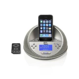 JBL Time Machine Alarm Clock/Dock for iPod   White