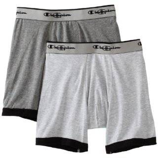 Champion Mens Double Dry Activefit 2 Pack Boxer Brief Clothing