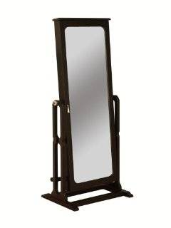 Wardrobe with Full Length Mirror, Antique Black Explore similar items