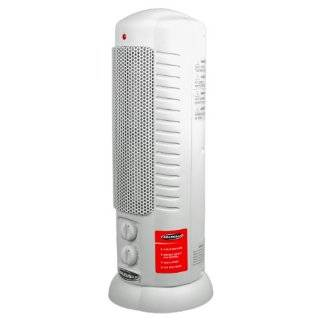 Bionaire BSH3850 U Safety Smart Tower Electric Space Heater Fan, For