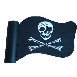 Pirate Flag Skull Crossbones Car Truck SUV Antenna Topper