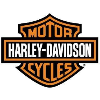 HARLEY DAVIDSON Large White VINYL Sticker/Decal (Motorcycles