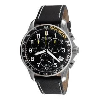 Victorinox Swiss Army Mens 241316 Chrono Classic Chronograph Black
