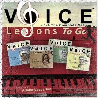 Voice Lessons To Go v.1 4 The Complete Set