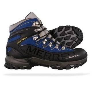 New Merrell Outbound Mid Gore Tex Mens Hiking Boots   Black
