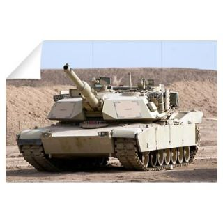 Wall Art > Wall Decals > M1 Abrams tank at Camp Warhorse
