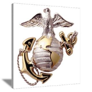 Wall Art > Canvas Art > USMC Eagle,Globe,and Anchor Canvas