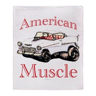 55 Chevy Fleece Blankets  55 Chevy Throw Blankets