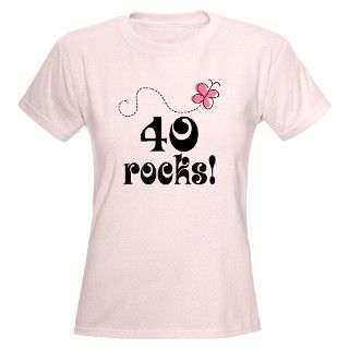 Size Tees  40Th Birthday Ideas Ladies Plus Size T Shirts