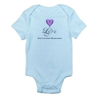 Down Syndrome Gifts > Down Syndrome Baby Clothing > Love does not