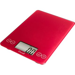 Escali Arti Red 15 pound Digital Food Scale