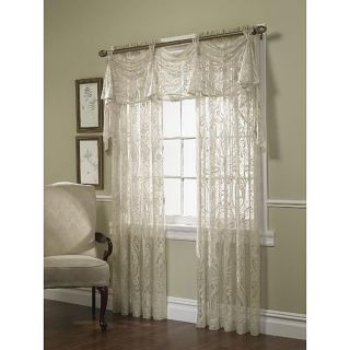 Sultan Lace Window Curtain Panel (52 in. x 84 in.)