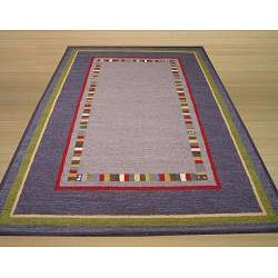 Hand tufted Toni Blue Wool Rug (5 x 8)