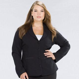 Kiyonna Womens Plus Size Signature Suit Blazer