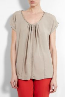 DAY Birger Et Mikkelsen  Day Una Crepe Top by DAY Birger Et Mikkelsen