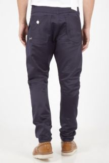 Denham  Navy Selvedge Twill Apache Carrot Chinos by Denham