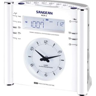 Sangean RCR3 Digital AM/FM Atomic Clock Radio