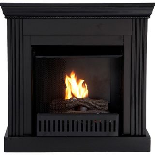 ChimneyFree Corinth Vintage Cherry Electric Fireplace with Black