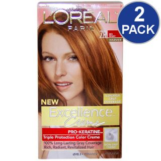 LOreal Excellence Creme Pro Keratine Hair Color   Red Penny #7R   2