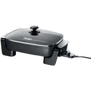 DeLonghi Electric Skillet with Lid