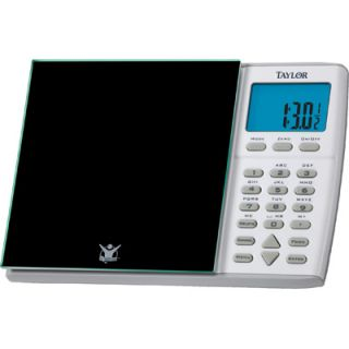 Taylor Biggest Loser Glass Nutritional Scale