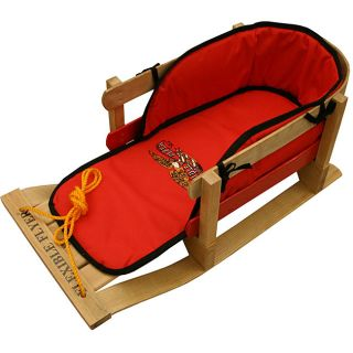 Flexible Flyer Padded Wood Toddlers Sled