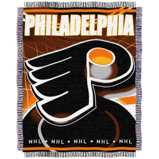 Northwest Philadelphia Flyers Woven Jacquard Blanket