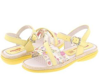 Kids Mykene (Toddler/Youth) Yellow/Floral (Size 29 (US 11 Toddler) M