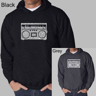 Los Angeles Pop Art Mens Boom Box Hoodie