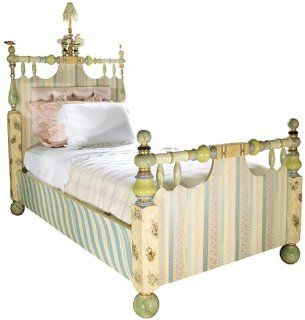 MacKenzie Childs Cakewalk Twin Bed: Home & Kitchen
