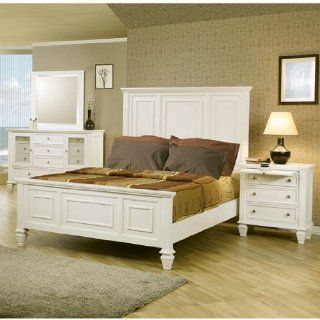 Sandy Beach Panel Bed Bedroom Set (King) by Coaster: Kitchen & Dining