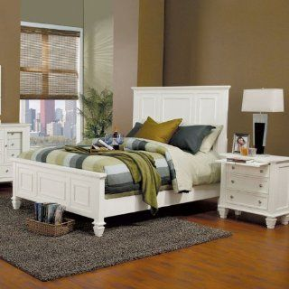Sandy Beach White King Bed By Coaster Furniture: Furniture