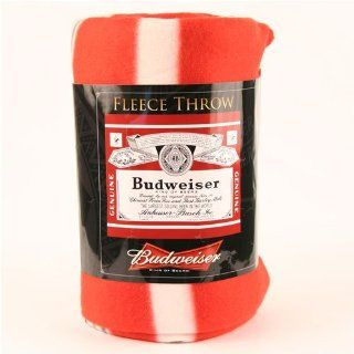 Budweiser Classic Label Fleece Blanket (50 x 60)