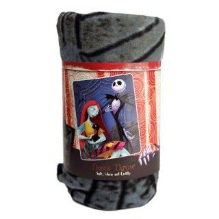 Love Nightmare Before Christmas Light Weight Fleece Blanket Throw