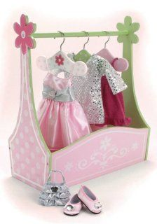American Girl Doll Bed Rooms and 18 Inch Doll Clothes: Toys & Games