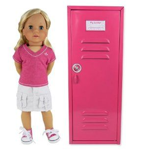 Locker fit for American Girl Doll Bed Rooms & More! 18 Doll