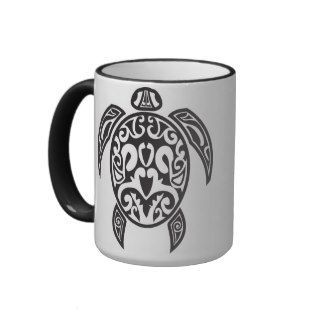 Tribal Sea Turtle Mug