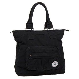 Converse Tasche Vintage Patch Canvas Shopper, black, 42 x 44 x 17 cm