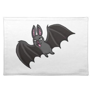 Cartoon Vampire Bat Placemats