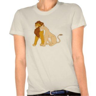 Lion Kings Adult Simba and Nala Disney Tees